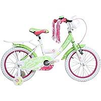 16 Zoll Hi5Emily Kinderfahrrad für Mädchen ab 4 Jahren Fahrrad Stützräder