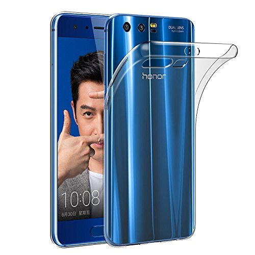 Huawei Honor 9 Hülle, Acelive Transparent TPU Silikon Handyhülle Schutzhülle Case für Huawei Honor 9