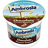 Ambrosia Flan De Chocolate Pote 120g (Paquete de 6)