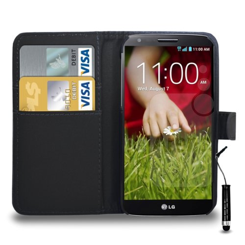 lg-g2-leather-wallet-flip-case-cover-pouch-mini-touch-stylus-pen-free-screen-guard-cleaning-cloth-bl
