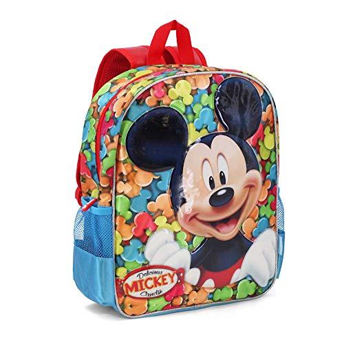 Mickey Mouse Delicious Zainetto per bambini, 40 cm, Rosso (Rojo)