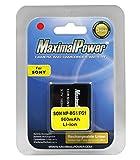MaximalPower Sony NP-BG1 NP-FG1 - Batteria agli ioni di litio per fotocamere Sony Cybershot