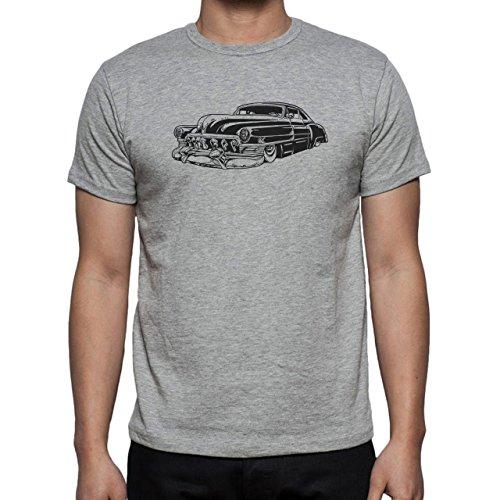 Car Vehicle Four Wheels Auto Black Vintage Herren T-Shirt Grau