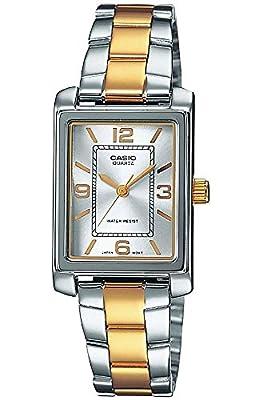 Casio Collection LTP-1234PSG-7A, Reloj para Mujer, Bicolor de Casio