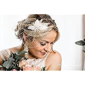 N1 Brautschleier wedding hairstyles Boho Frisur Vintage Braut 2018