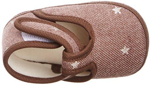 Cambrass Cambrass566, Chaussures premiers pas mixte enfant Marron (Brown)
