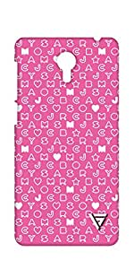 Vogueshell Alphabet Pattern Printed Symmetry PRO Series Hard Back Case for Lenovo Zuk Z1