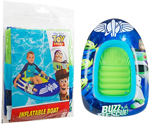 Sambroro International Toy Story Aufblasbares Boot, mit Woody, Buzz Jessie