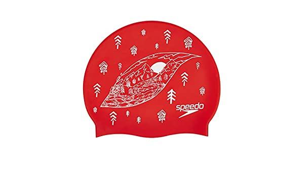 premium selection website for discount factory authentic Speedo Adult Unisex Slogan Print Bonnet de Natation Mixte ...