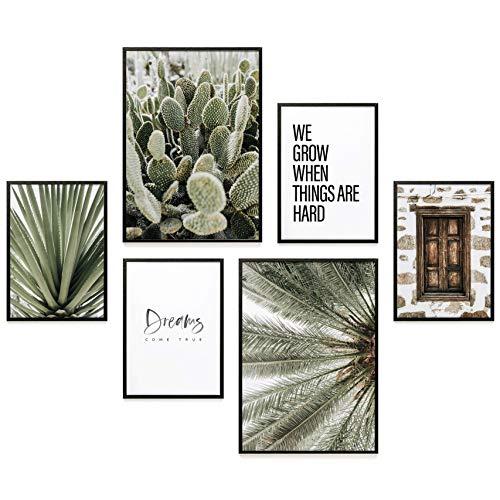 Heimlich® Premium Poster Set | Stilvoller Mix an passenden Bildern für Dein Zuhause | ohne Rahmen » Dreams Come True «