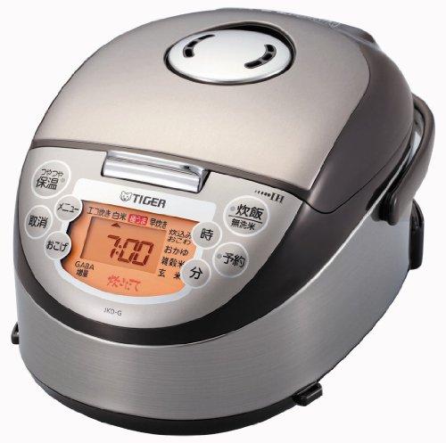 Tiger Elektrischen Reiskocher (TIGER IH Reiskocher <Mini Cooked> (3gou kochen) braun JKO-G550-T)