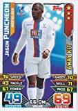 Match Attax 2015/2016 Jason Puncheon Crystal Palace Away Kit Trading Card 15/16