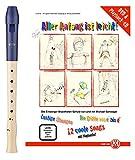 Moeck Flauto 1 Plus 1023 Sopran barock+ Schule mit