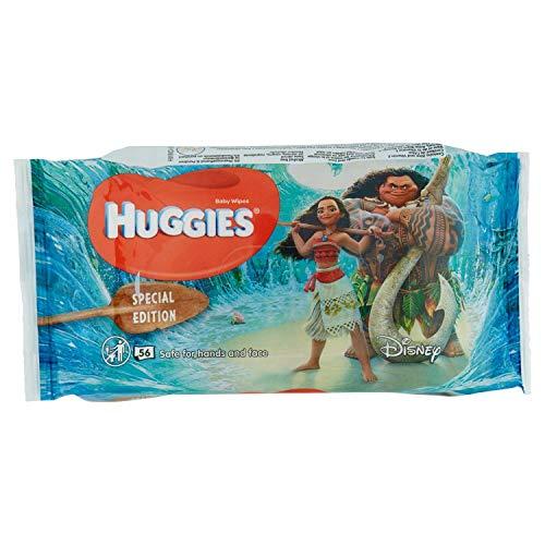 Huggies Disney Natural Care Baby Feuchtetücher, 1er Pack (1 x 56 Stück)