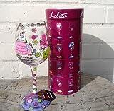 Lolita Weinglas Mummys Time Out, in Geschenkbox, tolle Geschenkidee für alle, die beschäftigte Mütter
