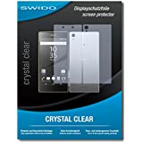 3 x SWIDO Crystal Clear Screen Protector for Sony Xperia Z5 Premium (2 front / 1 back) - PREMIUM QUALITY (crystalclear, hard-coated, bubble free application)