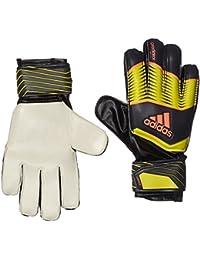 Adidas Gloves - Guantes de portero para fútbol, color Multicolor (Bright Yellow/Dark Shale/Flash Orange), talla Talla 7.5