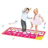 CYMY Piano Music Dance Mat Keyboard Playmat, Juguetes Educativos para...
