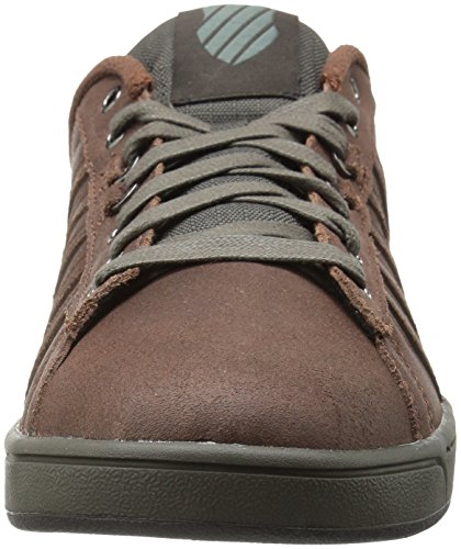 K-Swiss Hoke P Cmf, Sneakers Basses Homme Marron (Potting Soil/Beluga 216)