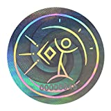 EMF Schutz Aufkleber | Strahlenschutz Handy | Blocker schützen vor elektromagnetischer Strahlung & Elektrosmog | Sticker für Smartphone, iPhone & Laptop | 2 er Chip Set | IGEF Zertifiziert