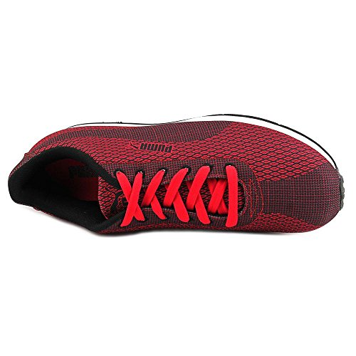 Puma Turin Woven Print Synthétique Baskets High Risk Red-Black
