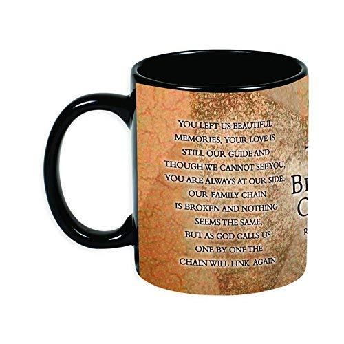The Broken Kette Ron tranmer schmerzlichen Verlust 11Oz Keramik Steingut Kaffee Tasse (Starbuck-kaffee-geschenk-korb)