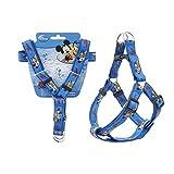 Hundegeschirr, Disney Mickey Größe M Halskette Leine