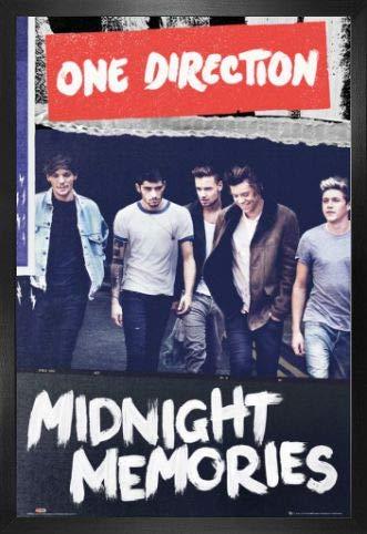 1art1 One Direction Poster und MDF-Rahmen - Album Cover Portrait (91 x 61cm)