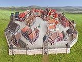 Aue-Verlag-33 x 27 x 10 cm, modello medievale Town