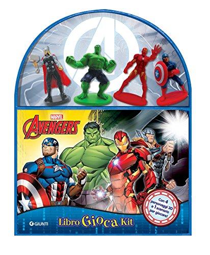Avengers. Libro gioca kit. Ediz. a colori. Con gadget