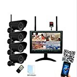 Funk Videoüberwachung 9 Zoll 720P HD WLAN
