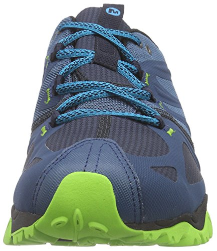 Merrell Scarpe Da Grassbow Blu blu Uomo Brillante Bassa Gtx Sport Trekking Aw46AZq