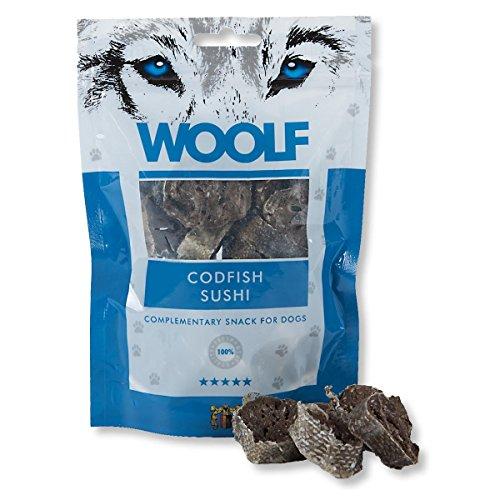 WOOLF Sushi 100gr Cod - Snacks für Hunde