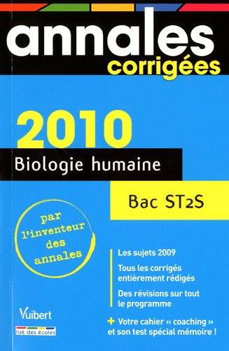 Biologie humaine Bac ST2S par Nathalie Dolin