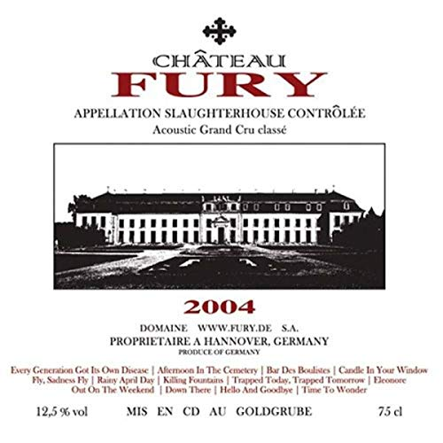 fury in the slaughterhouse cd 2017 Acoustic Grand Cru Classe