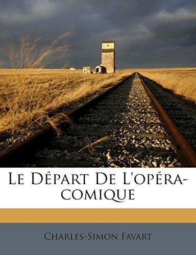 Le Départ De L'opéra-comique
