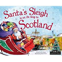 Santa's Sleigh is on its Way to Scotland