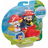 Fisher-Price Nickelodeon Bubble Guppies Gil, Bubble Puppy and Water Dragon Bath Squirters Toy by Bubble Guppies
