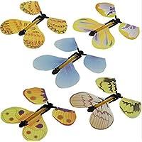 5x Transform Flyer Flotter Voler Magique Papillon Trick Prop Childs Cadeau Jouet