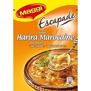 Maggi - soupe escapade harira à la marocaine - 90g