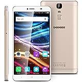DOOGEE Y6 Max 3D 4G Smartphone Débloqué (6.5'' FHD Ultra Grand Écran Oeil nu 3D - 3Go RAM 32Go ROM - Android 6.0 Marshmallow MT6750T - Octa Core - Dual SIM - Gestes Intelligents Charge Rapide) - Or