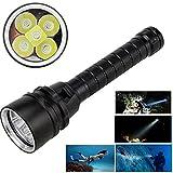 LanLan Starke Licht Tauchen Taschenlampe 15000LM XML T6 LED Starke Licht Tauchen Taschenlampe Unterwasser Wasserdichte Licht Taktische Laterne lampe