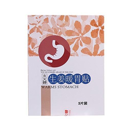 La Thérapie Naturelle de la Chaleur pour Soulager la Douleur Gastralgique Chauffer L'estomac Abdominale Froide - 5 paquet