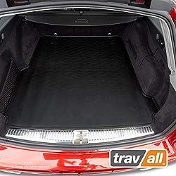 Travall® Liner Kofferraumwanne TBM1168 - Maßgeschneiderte Gepäckraumeinlage mit Anti-Rutsch-Beschichtung
