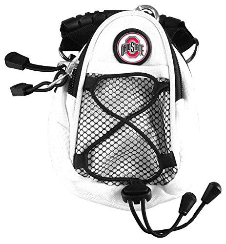 LinksWalker NCAA Ohio State Buckeyes-Mini Day Pack-Weiß Mesh Back Team Hat