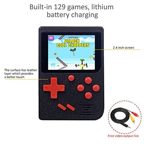 QUMOX 2.5 LCD da pollici 8 bit Giocatore di gioco portatile Videogiochi 129 giochi retro incorporati
