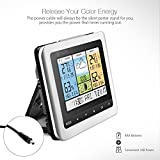 Brand digoo Model dg-th8888Pro Color Wireless Weather Station Size 167mm X 30mm x 130mm/6.6'x 1.2' x 5.1'inches show mutifunctional color Weather Station with color LCD Screen Weather Forecast the next Day Sunny and partly cloudy & cloudy &...