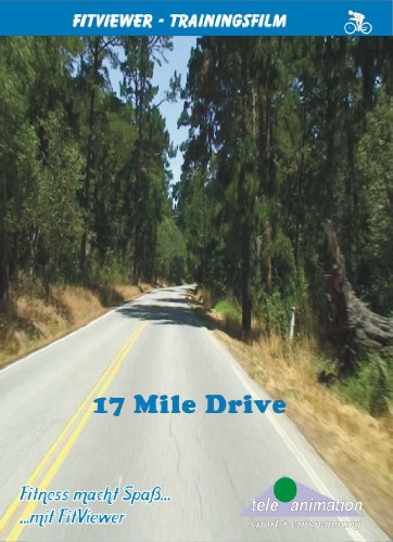 TeleAnimation Vitalis DVD-Trainingsvideo (Full HD Auflösung) DVD: USA - 17 Mile Drive, (Full HD: 1920x1080) (Drive 17 Mile)