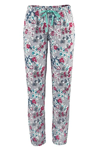 Lascana Pyjama Unterteile Sweet Dreams, grau-mehrfarbig, 40-42