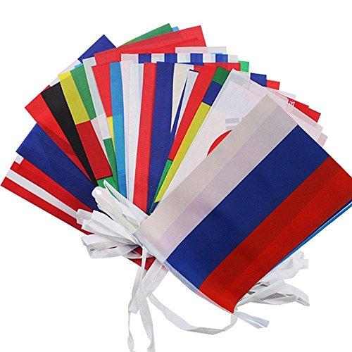 Plus-Grand-fanions-pour-FIFA-Coupe-du-monde-de-2018-Kobwa-20-cm-28-cm-Corde-Drapeau-32-quipes-drapeaux-nationaux-pour-sports-Club-bar-grand-Ouverture-Guirlande-fanions–10-metre